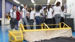 Visita de escola pública ao Museu do IO – Instituto Oceanográfico