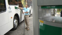Ônibus movido a etanol – CENBIO – IEE