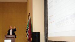 Antonio Carlos Hernandes (vice reitor) durante a Reunião dos Dirigentes da USP em Bauru . Data: 30 e 31 de julho de 2019. Foto: Cecília Bastos/USP Imagem