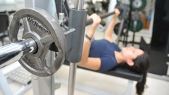 Treino de musculação