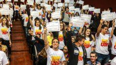 """CUCo – Competição USP de Conhecimento, que integra o Programa """"Vem pra USP!"""" – Campus Fermnando Costa em Pirassununga"""
