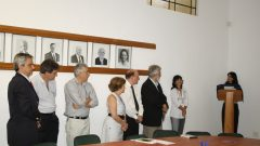 Entronalização prof. José Aparecido Da Silva, prefeito da USP de Ribeirão Preto