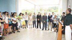 Inauguração do Bloco 1, da EEFERP, 2009