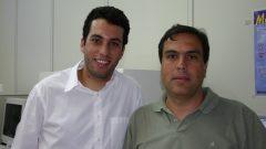 Prof. Eduardo Magalhães Rego, da FMRP e Fábio Marques Nascimento