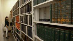 Acervo da Biblioteca do Museu Zoologia da USP. Foto: Cecília Bastos/USP Imagem