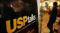 Segundo encontro da série USP Talks CORRUPÇÃO: De onde vem e como acabar com ela? Local: Livraria Cultura. fotos Cecília Bastos/Usp Imagem