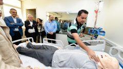 Visita dos Dirigentes no futuro hospital da Clínicas em Bauru durante a Reunião dos Dirigentes da USP em Bauru . Data: 30 e 31 de julho de 2019. Foto: Cecília Bastos/USP Imagem