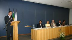 Posse do prof. Rudinei Toneto Junior como diretor da FEARP, 2006