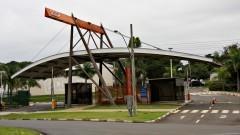 Entrada do Campus da USP em São Carlos, no interior do Estado de São Paulo.
