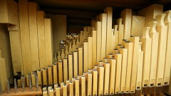 Órgão tubos portativos da ECA_ foto Cecília Bastos/Usp Imagens