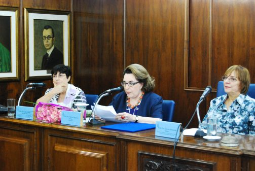 Outorga do título de professora emérita a Walnice Nogueira Galvão