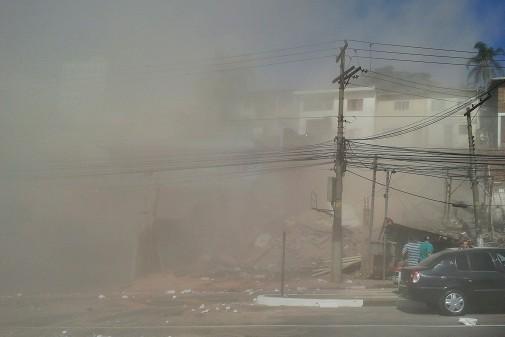 Desabamento de prédio em São Paulo