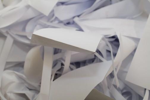 Papel para reciclagem