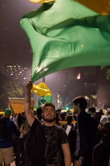 Manifestação da Avenida Paulista dia 20 de junho de 2013