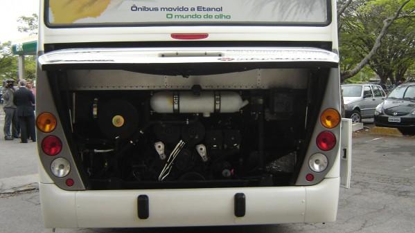 Ônibus movido a etanol – CENBIO – Instituto de Energia e Ambiente