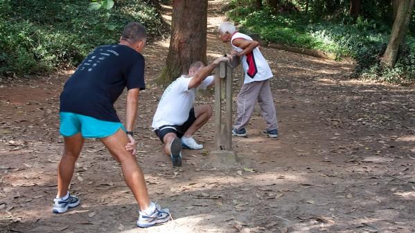 Exercícios físicos – Campus da Capital