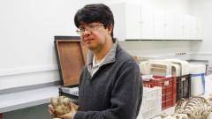Prof. Levy Figuti do Museu de Arqueologia e Etnologia