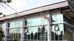 Obras do novo prédio do IGc