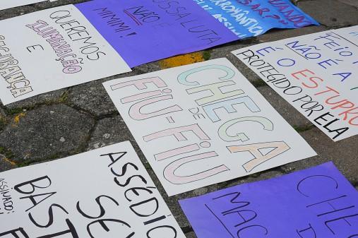 Dia Internacional da Mulher. Mulheres unidas pelo fim da violência na USP