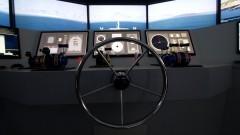 Poli cria simulador de ponte completa de comando de navio