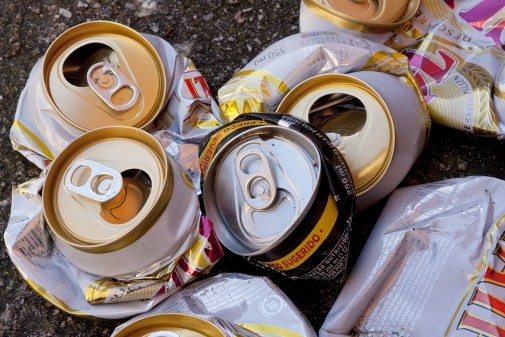 Reciclagem de Latinhas