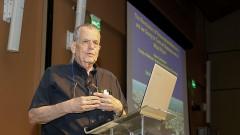 Palestra de Aaron Ciechanover no Instituto de Radiologia da Faculdade de Medicina