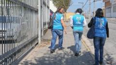 Agentes Comunitários de Saúde na UBS Santo Estevão do bairro de Itaquera . foto Cecília Bastos