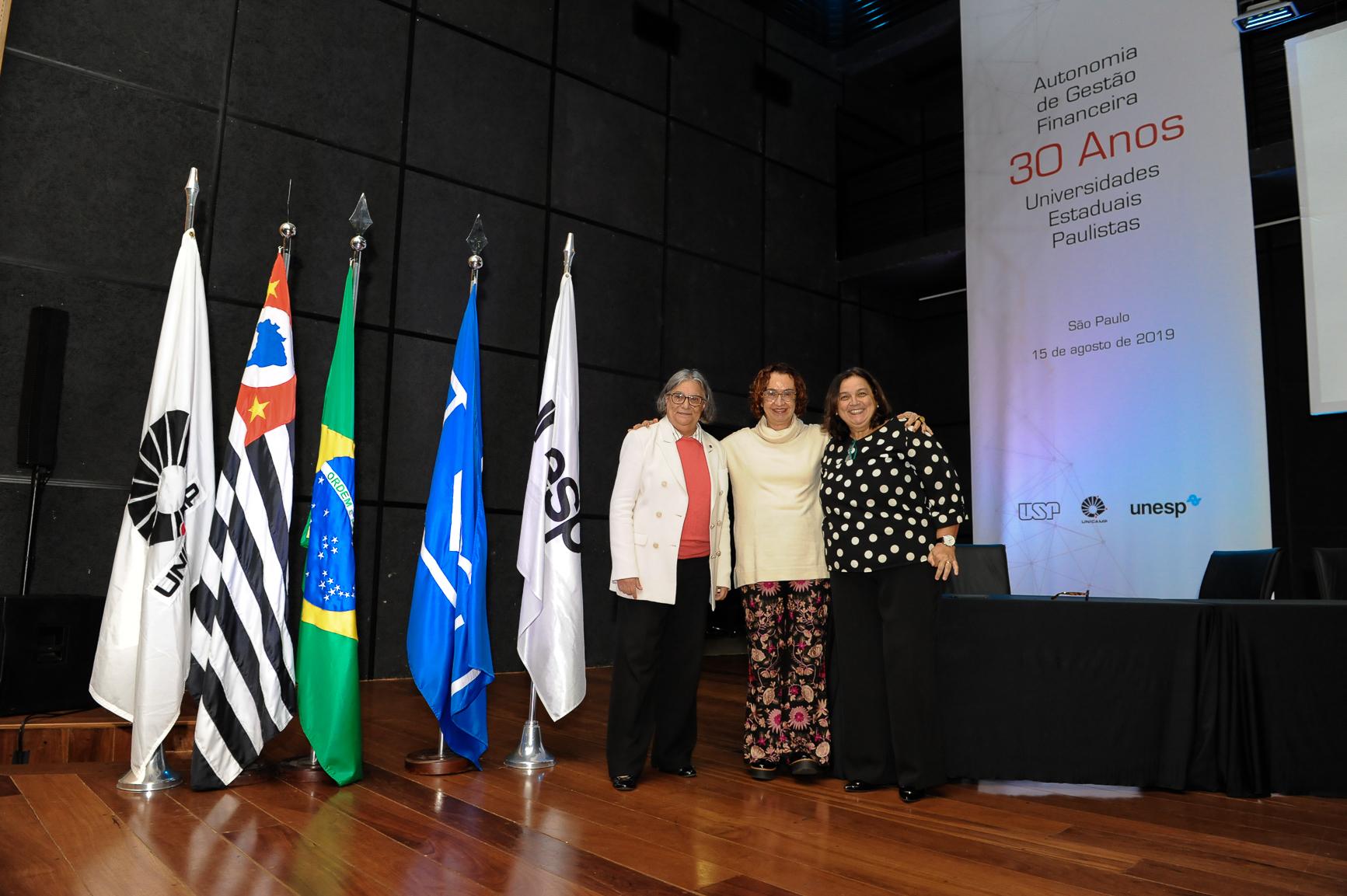 30 anos de Autonomia de Gestão Financeira das Universidades Estaduais Paulistas. Foto: Cecília Bastos/USP Imagem