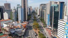 Vista aérea da região de Pinheiros