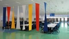 Decoração da Biblioteca – EACH