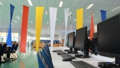 Decoração da Biblioteca – Escola de Artes, Ciências e Humanidades