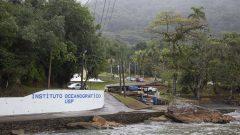 Base de Pesquisa Clarimundo de Jesus do Instituto Oceanográfico (IO) na praia do Lamberto em Ubatuba
