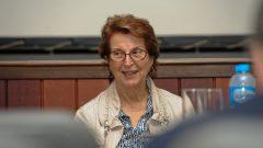 Belmira Amélia de Barros Oliveira (diretora da FUVEST) durante a Reunião dos Dirigentes da USP em Bauru . Data: 30 e 31 de julho de 2019. Foto: Cecília Bastos/USP Imagem