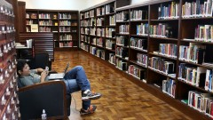 Biblioteca Mário de Andrade. foto Cecília Bastos