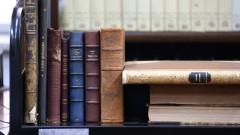 Acervo de livros raros na biblioteca Mario de Andrade.foto Cecília Bastos