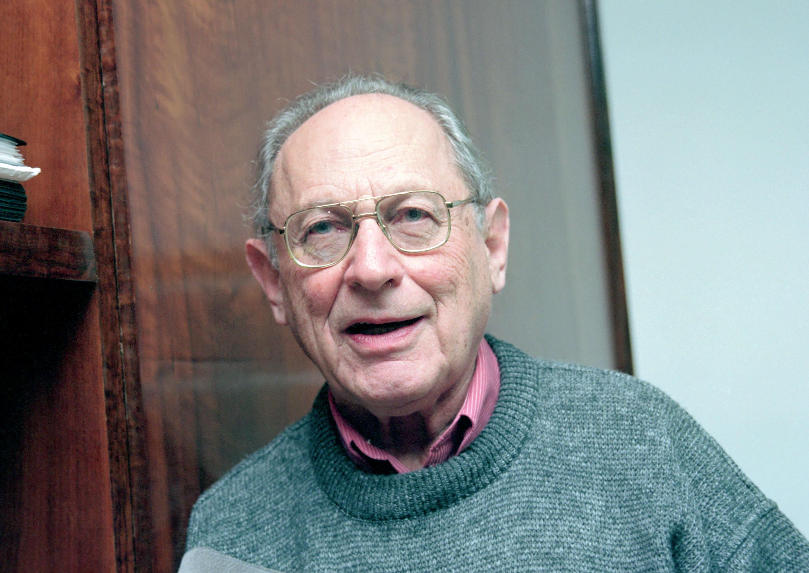 Boris Schnaiderman é escritor e ensaísta russo, de origem ucraniana e naturalizado brasileiro, tradutor e professor emérito da FFLCH-USP. foto Cecília Bastos.