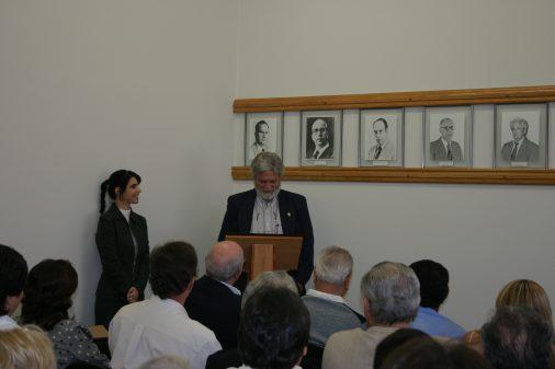 Entronização da profa. Emilia Campos de Carvalho, como prefeita do campus da USP de Ribeirão Preto, 2006