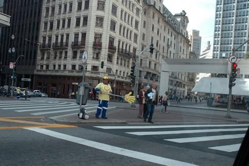 Campanha de Trânsito em São Paulo