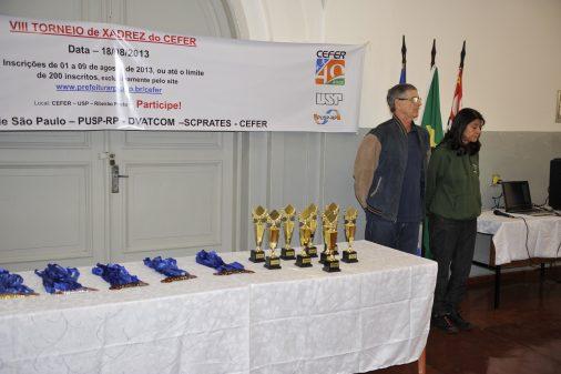 VIII Torneio de xadrez do CEFER, 2013