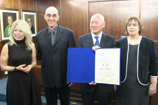 Outorga do título de professor emérito a Sedi Hirano