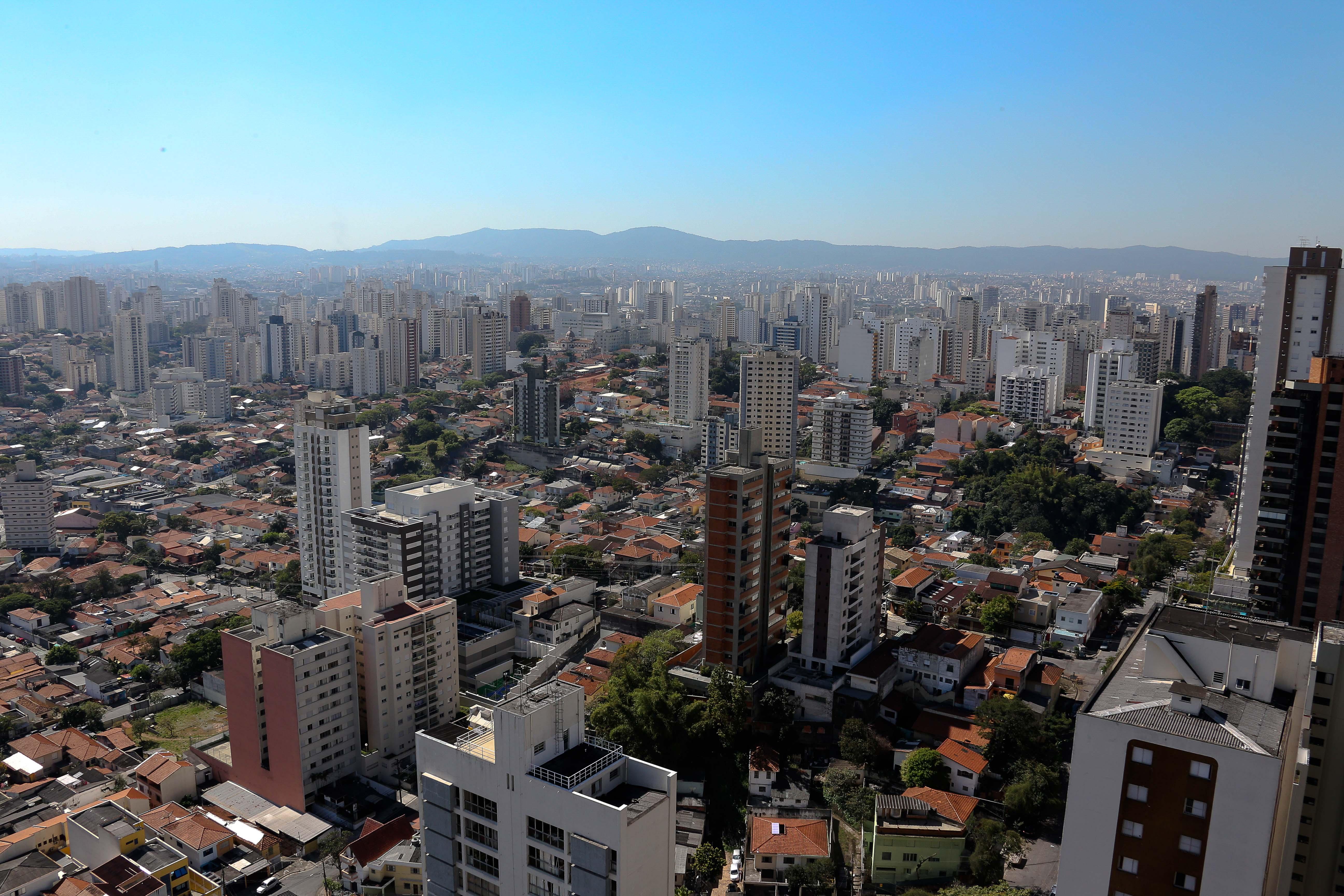 Prédios da cidade de São Paulo. foto Cecília Bastos/Usp Imagens