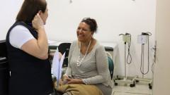 Consulta de enfermagem do programa Envelhecimento Ativo no UBAS/HU. foto Cecília Bastos/Usp Imagens