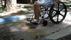 Cadeirante . foto Cecília Bastos