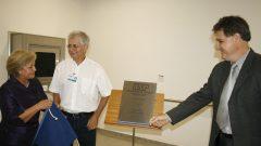 Descerramento da placa do Biotério de Roedores, 2008
