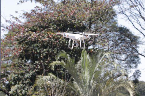 Patrulhamento Aéreo com Drone. Faculdade de Zootecnia e Engenharia de Alimentos