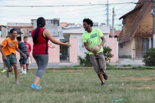 Treino de Rugby