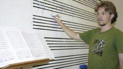 João Svidzinski, organizador da III Semana de Composição Departamento de Música USP Ribeirão Preto