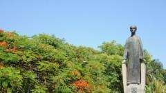 Estatua Armando Salles de Oliveira. foto Cecília Bastos