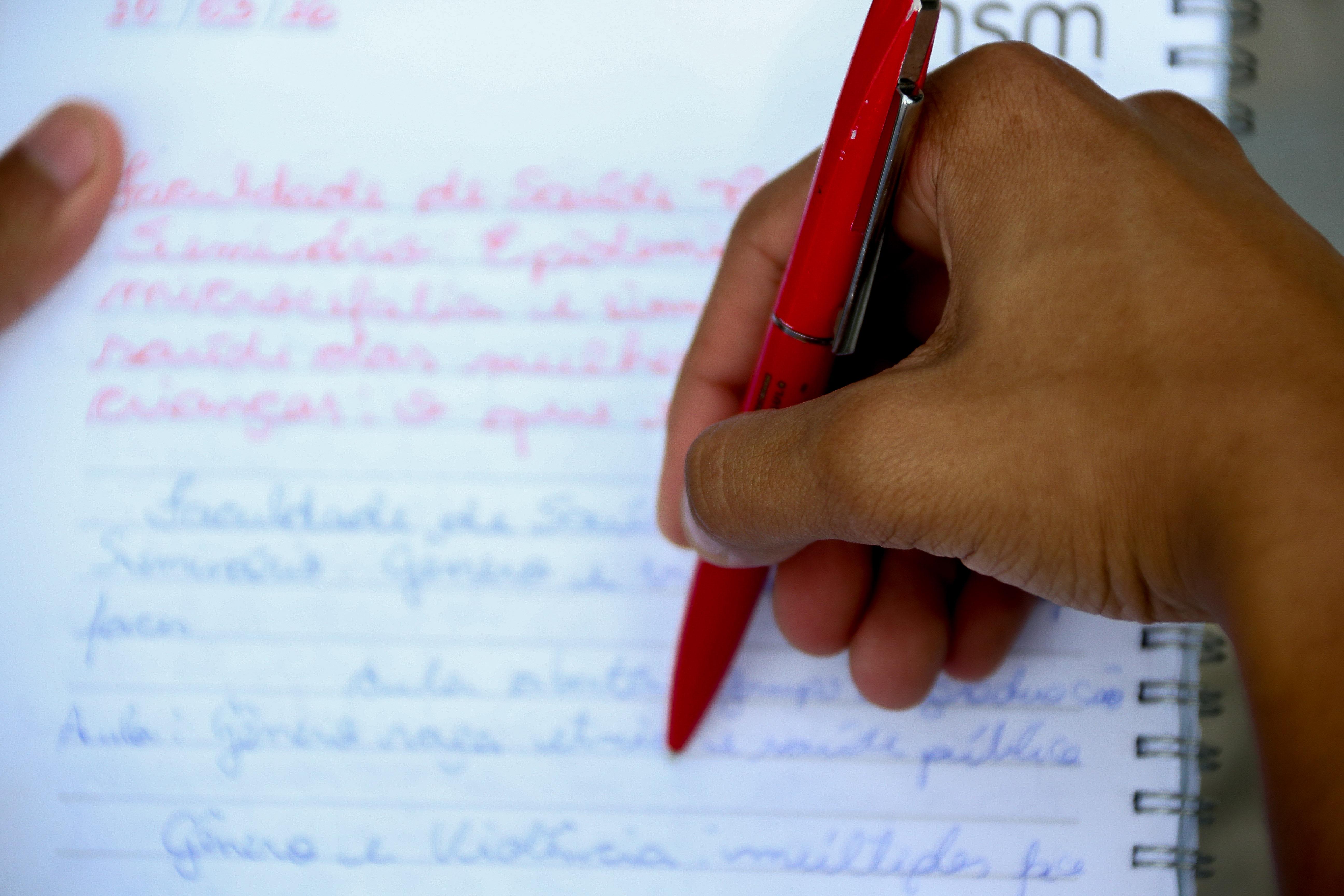 Detalhe escreita estibulando circulando na USP. foto Cecília Bastos/Usp Imagem