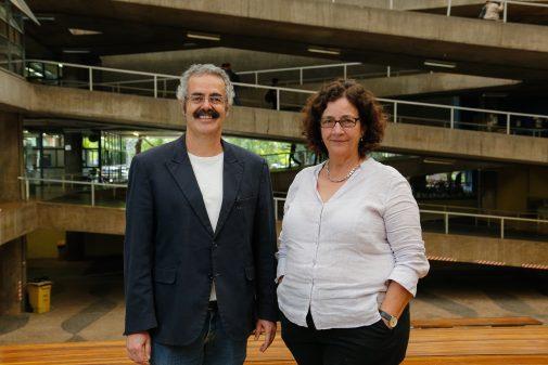 Eugênio Queiroga e Ana Lúcia Lanna